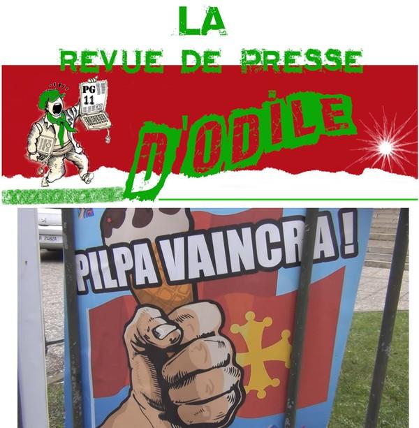 """La revue de presse d'Odile """" spécial pilpa """""""