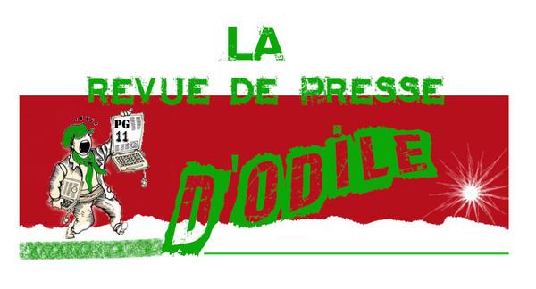 """La revue de presse d'Odile """" 26 Décembre 2012 """""""
